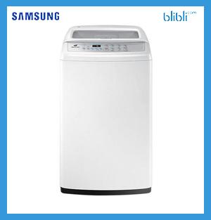 Samsung WA80H4000SW Mesin Cuci [8 kg/Top Loading/ O]