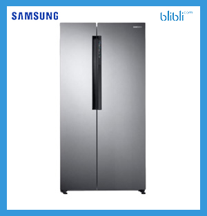 Samsung RS62K6007S8/SE Kulkas Side by Side with Cooling Plus [674 L]