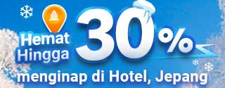 Diskon 30% Hotel Jepang