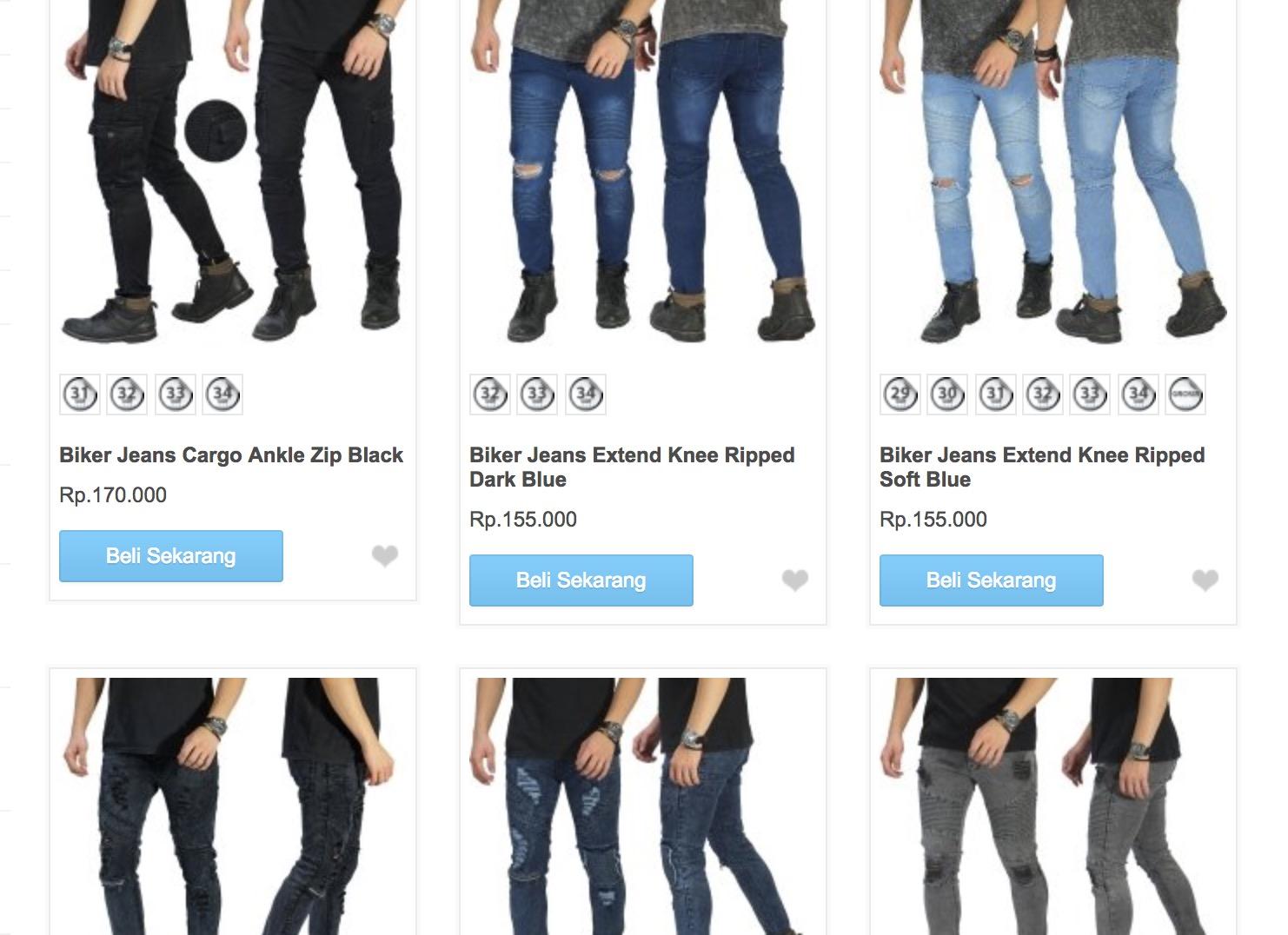 Promo Frozen Shop Celana Pria Mulai 120rban