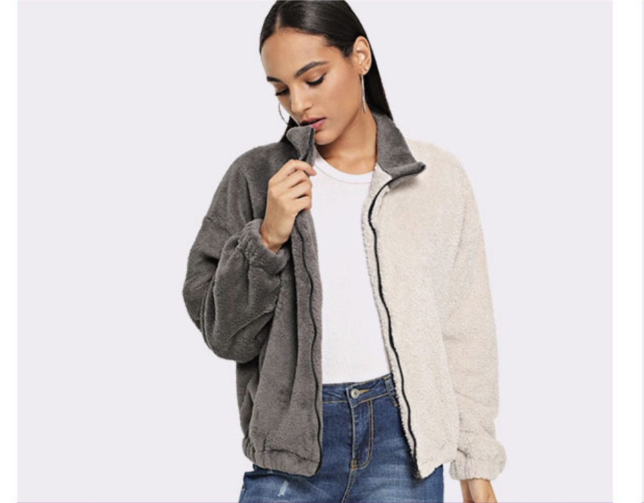 Romwe Girl's Coat and Jacket Discount Up To 75%