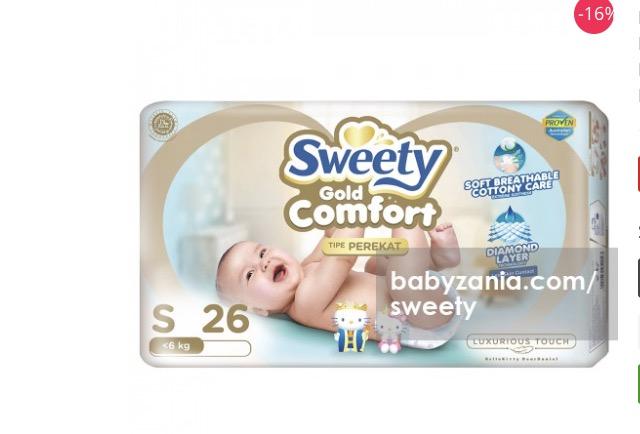 Sweety Popok Bayi Diskon 16%