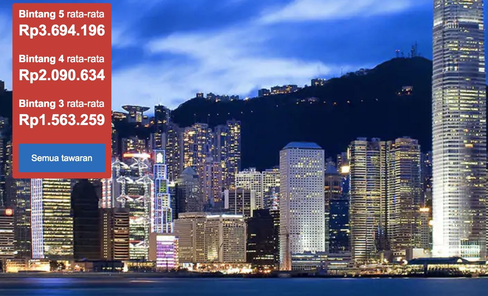 Hotel Murah Di Hong Kong Mulai Dari 1.5jt