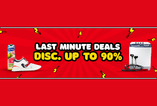 Last Minute Deals Disc. Up To 90%