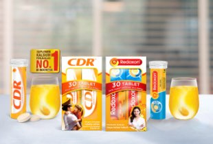 Belanja Produk CDR & Redoxon Cashback 50% s/d Rp 50.000