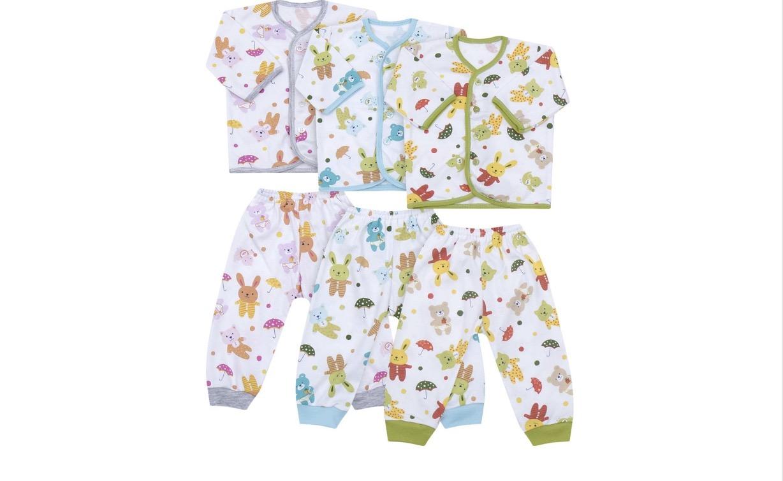 Baju Bayi Velvet Isi 3 Diskon 15%