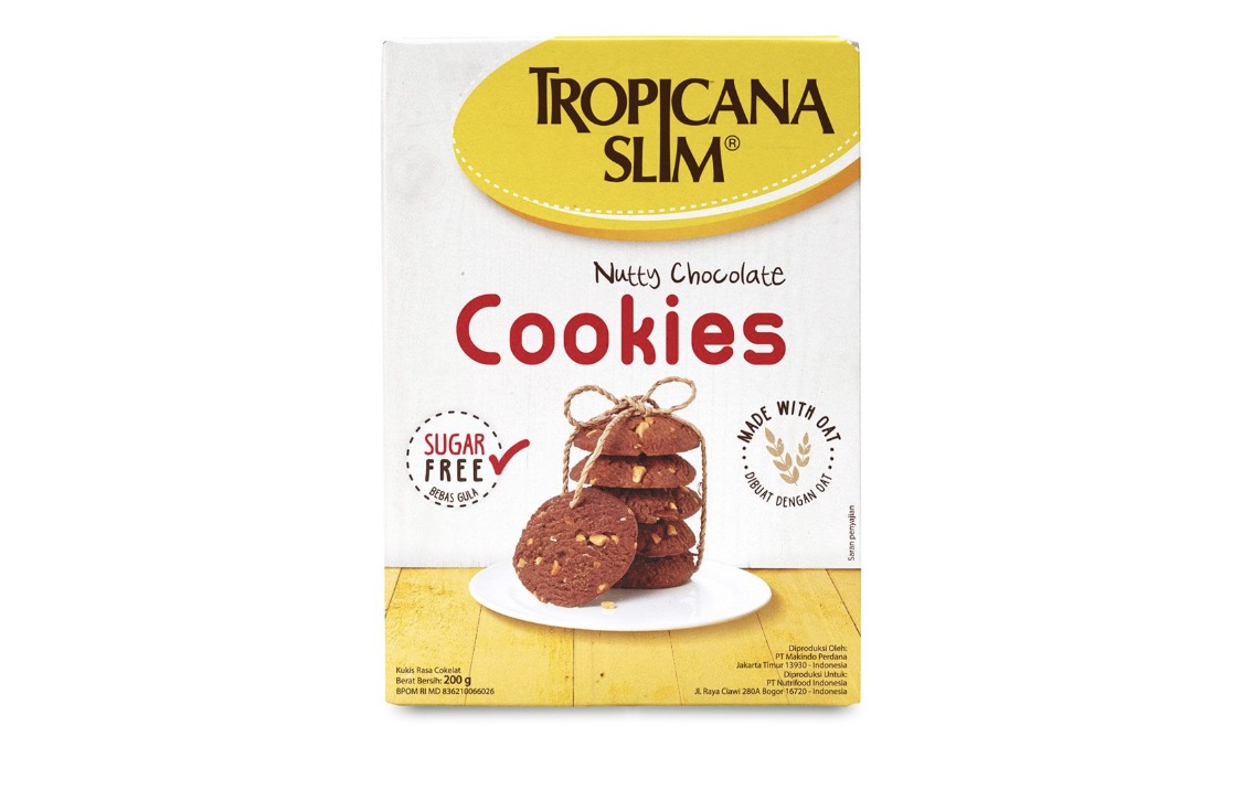 Choco & Nut Cookies Tropicana Slim Diskon 6rb
