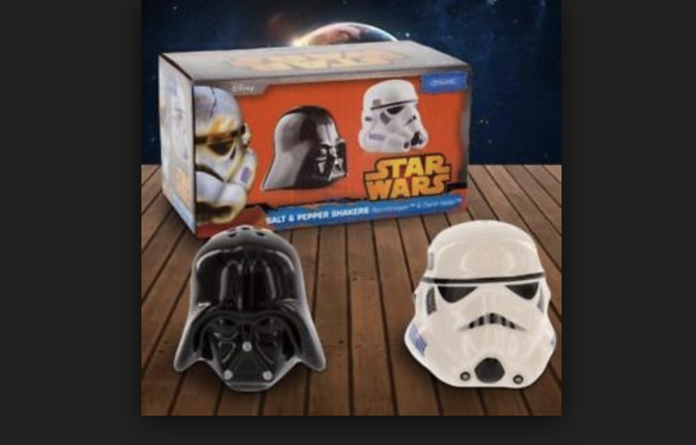 Livaza Diskon 29% Salt & Pepper Shaker Star Wars