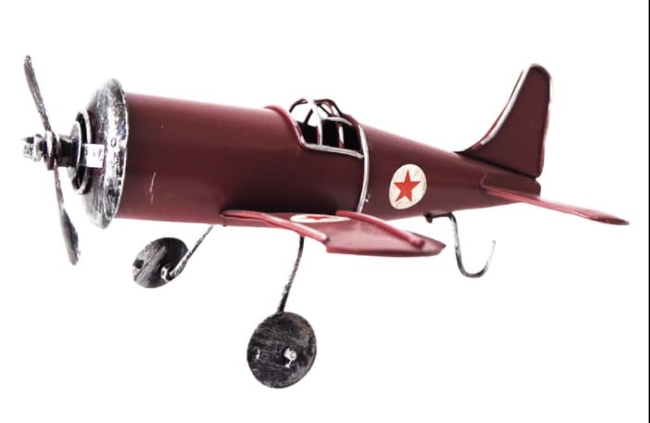 Hiasan Retro Airplane Hanya 189rb