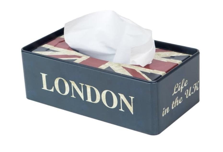 Promo Mendekor - London Themed Tissue Box Only 109K