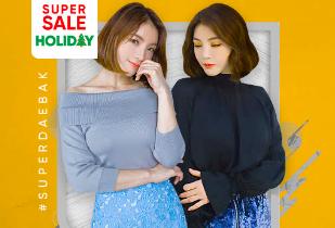 Brand Fashion Wanita Terbaru: Kakuu Disc Up To 30% + Extra Dsic 10% + Free Delivery