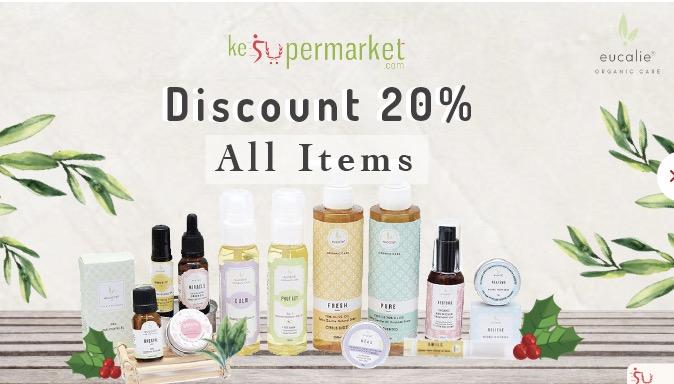 Aroma Terapi Eucali Murah Diskon 20% Semua Item
