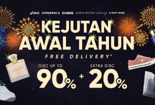 Kejutan Awal Tahun Disc Up To 90% + Extra Disc 20%