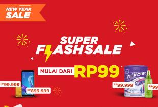 Super Flash Sale Mulai Dari Rp 99