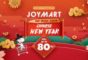 Joymart: Yuk Mulai Siapin Chinese New Year Disc. Up To 80%