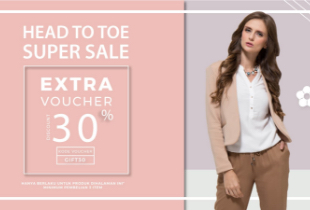 Head To Toe Super Sale + Extra Discount 30%
