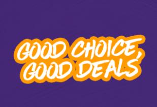 Good Choice Good Deals Mulai Dari 30rb + Cashback 30%*
