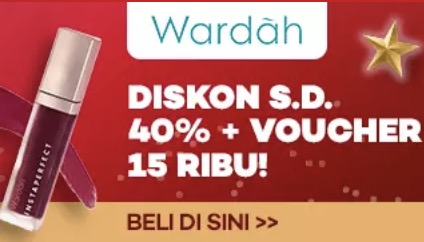 Make Up Wardah Diskon Hingga 40%