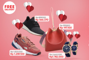 Fashion Valentine Sale Disc Up To 80% + Extra Disc 10%