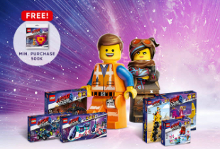The Lego Movie Disc Up To 12% + Cashback Point 10%