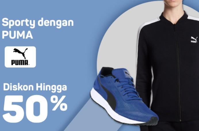 Sepatu Puma Diskon Hingga 50%