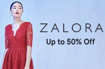 Voucher Zalora Diskon Hingga 50% Fashion Wanita