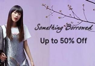 Voucher Zalora Sale 50% Dress Wanita Dari Something Borrowed