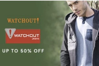 Diskon Hingga 50% All Fashion Pria Dari Watchout!