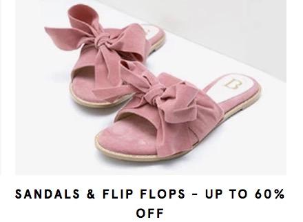 Diskon 60% Sandal & Flip Flops di Zalora