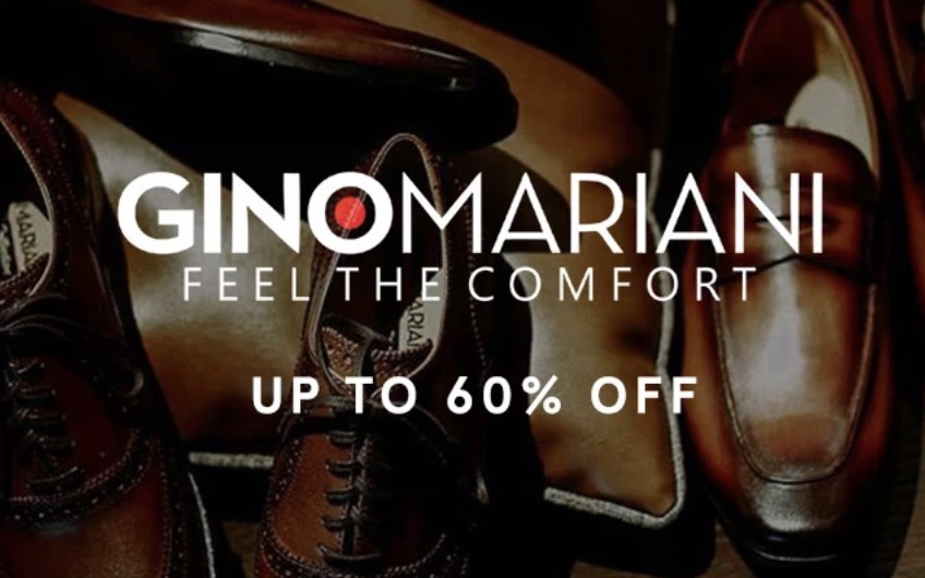 Sepatu Gino Mariani Diskon Hingga 60%