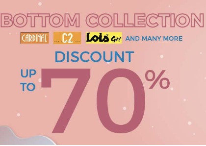 Sale Hingga 70% Celana Panjang Wanita