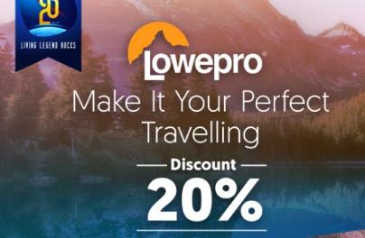 Diskon 20% Lowepro - Promo Bhinneka