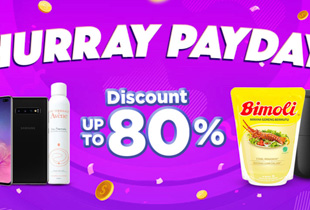 Hurray Payday Discount Up To 80%