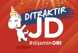 Ditraktir JD #dijaminORI