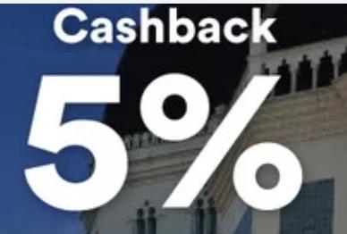 cashback 5%