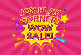 Joy Play Corner Wow Sale! Discount Up To 70% + Potongan Rp 100.000
