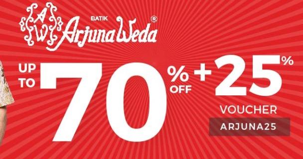 Batik ArjunaWeda Diskon 70%