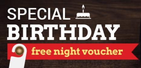 Special Birthday Free Night Voucher untuk Red Club Member !