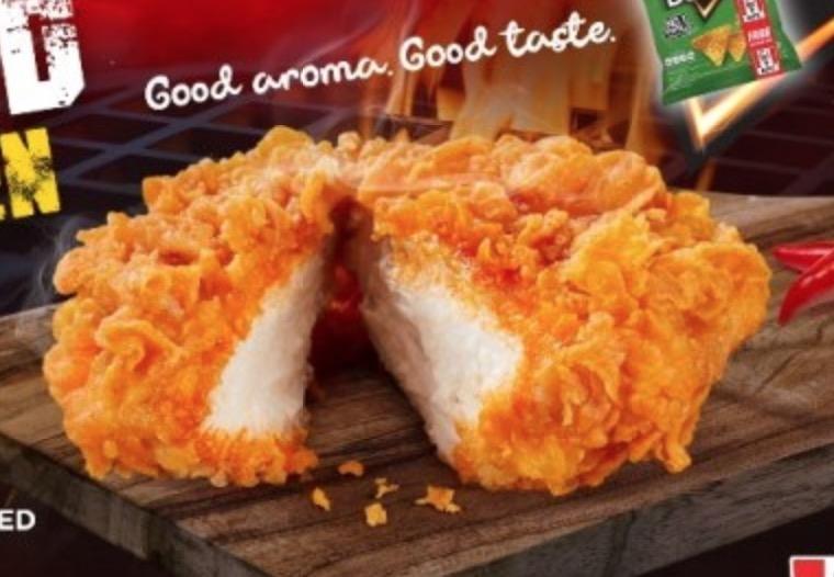 KFC Promo - Smoked spicy chicken