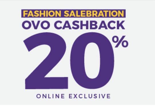 gunakan OVo dan dapatkan cashback 20%