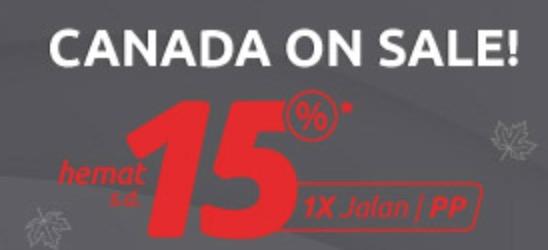 Promo Tiket Pesawat - Diskon Tiket Pesawat ke Kanada