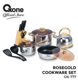 Rosegold Cookware Set