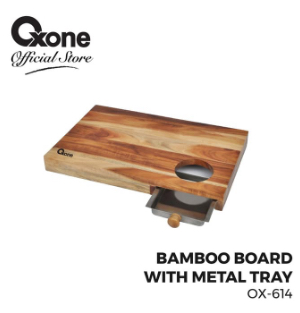 Bamboo Board With Tray OX-614