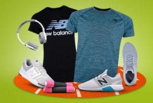 New Balance Disc. Up To 50%