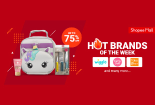 Hot Brands of the Week Up To 75% Off