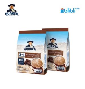 Quaker 3In1 Cokelat Polybag