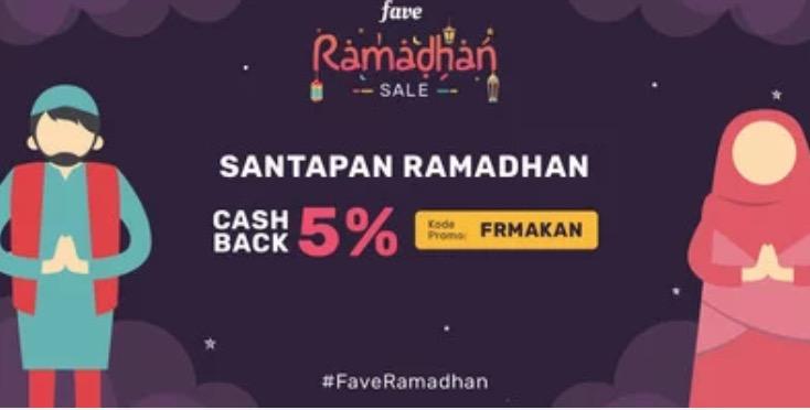 Fave cashback 5%