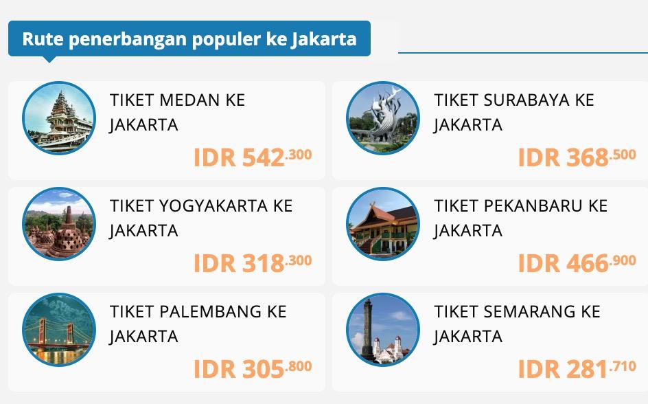 Tiket Murah Jakarta