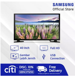 "Samsung Full HD Smart TV 40"" J5250"