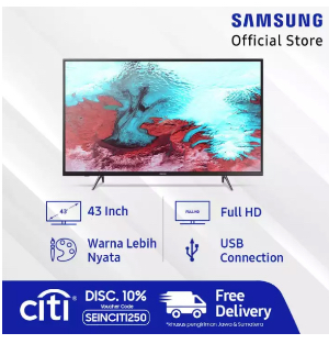 "Samsung Full HD Smart TV 43"" J5202"